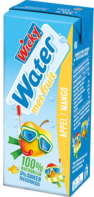 Wicky Water - Appel Mango